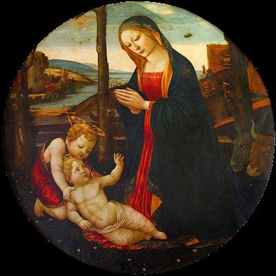 Madonna con niño y San Juan Palacio de Vecchio