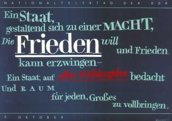 DDR Kabinett Bochum Oktober 2011