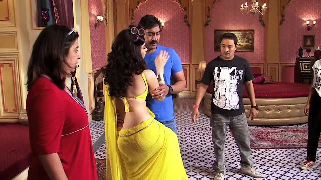 hot Tamanna Bhatia himmatwala movie set