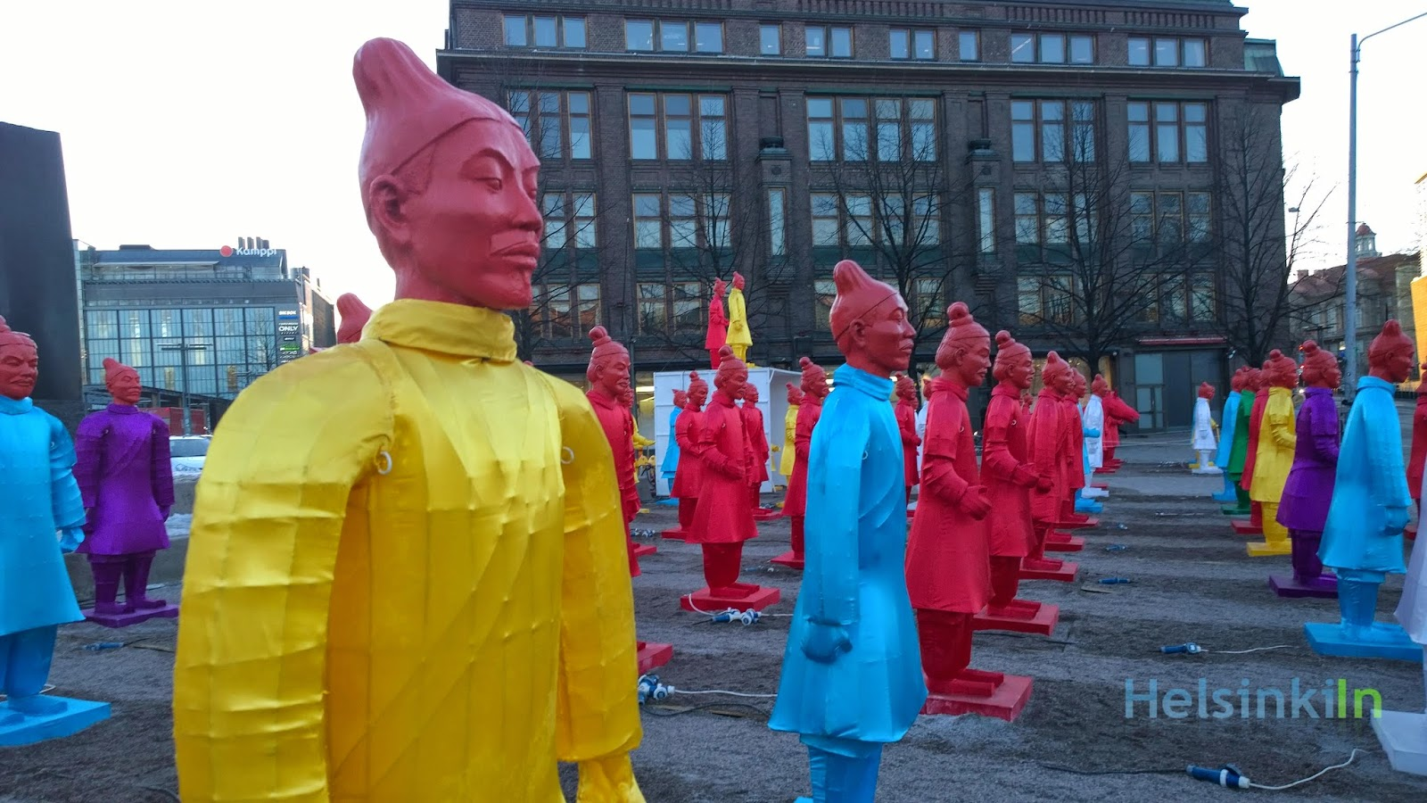 Lanterns of Terracotta Warriors
