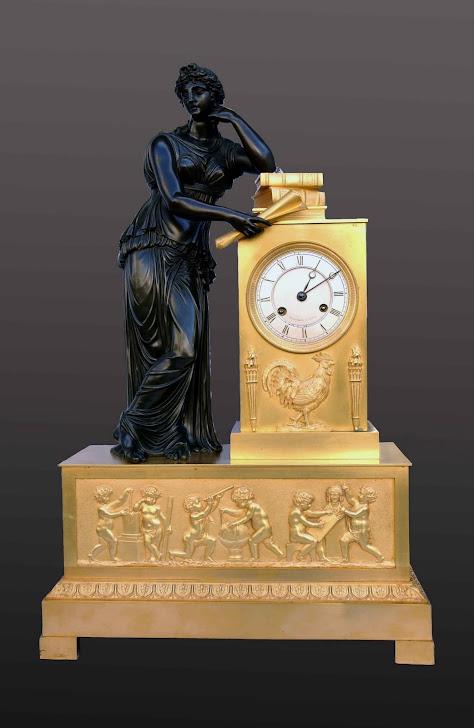 Reloj Imperio Carlos X de época h.1820-30