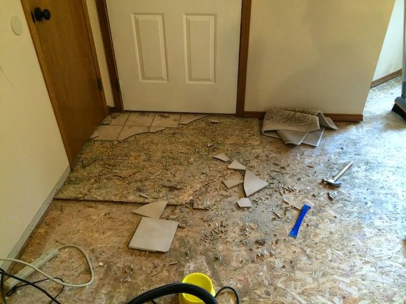 Removing Laminate Flooring if How To Remove Tile Entranceway Install Pergo Laminate Flooring