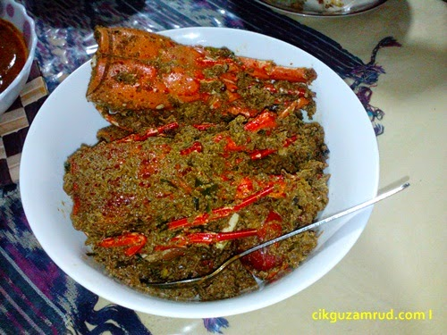 rendang lobster versi kuale