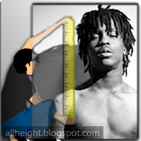 What is the height of Chief Keef?