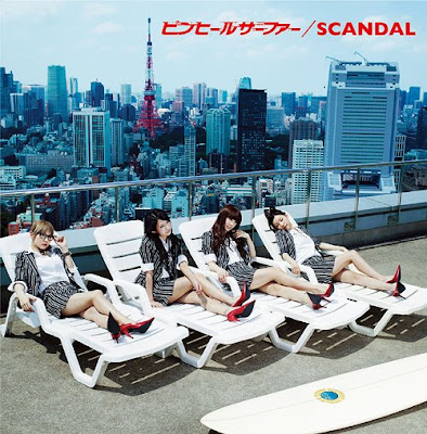 "SCANDAL Releases ""Pin Heel Surfer"" Cover"
