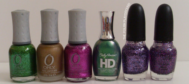 Orly, Sally Hansen, Sephora by OPI