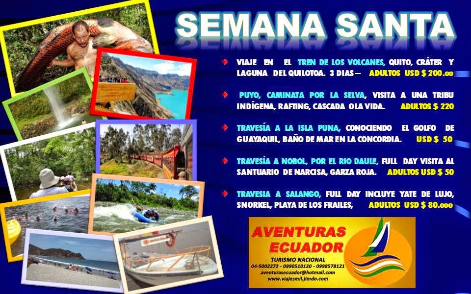 TOURS DE SEMANA SANTA