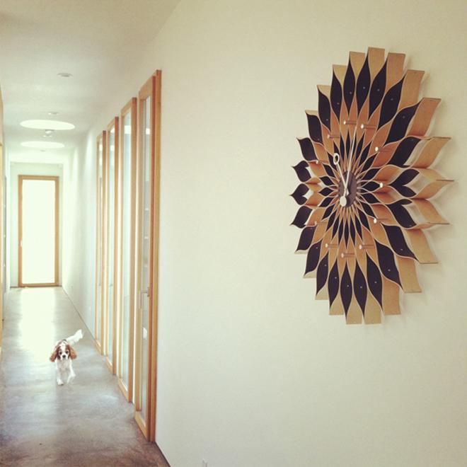 Sunflower Vitra Clock
