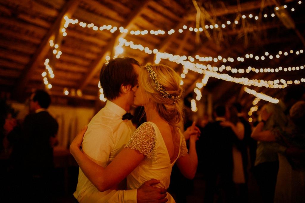 Första dansen på bröllop i Småland