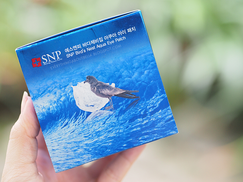 SNP Bird's Nest Aqua Eye Patch
