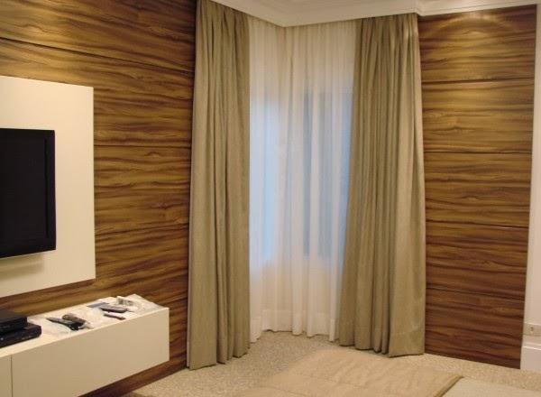 Fotos e modelos de cortinas para decoração de sala e quarto