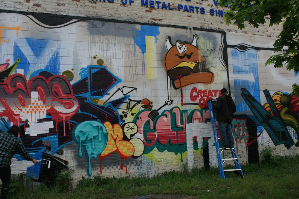 Inside the rock poster frame blog the detroit for Enjoy detroit mural