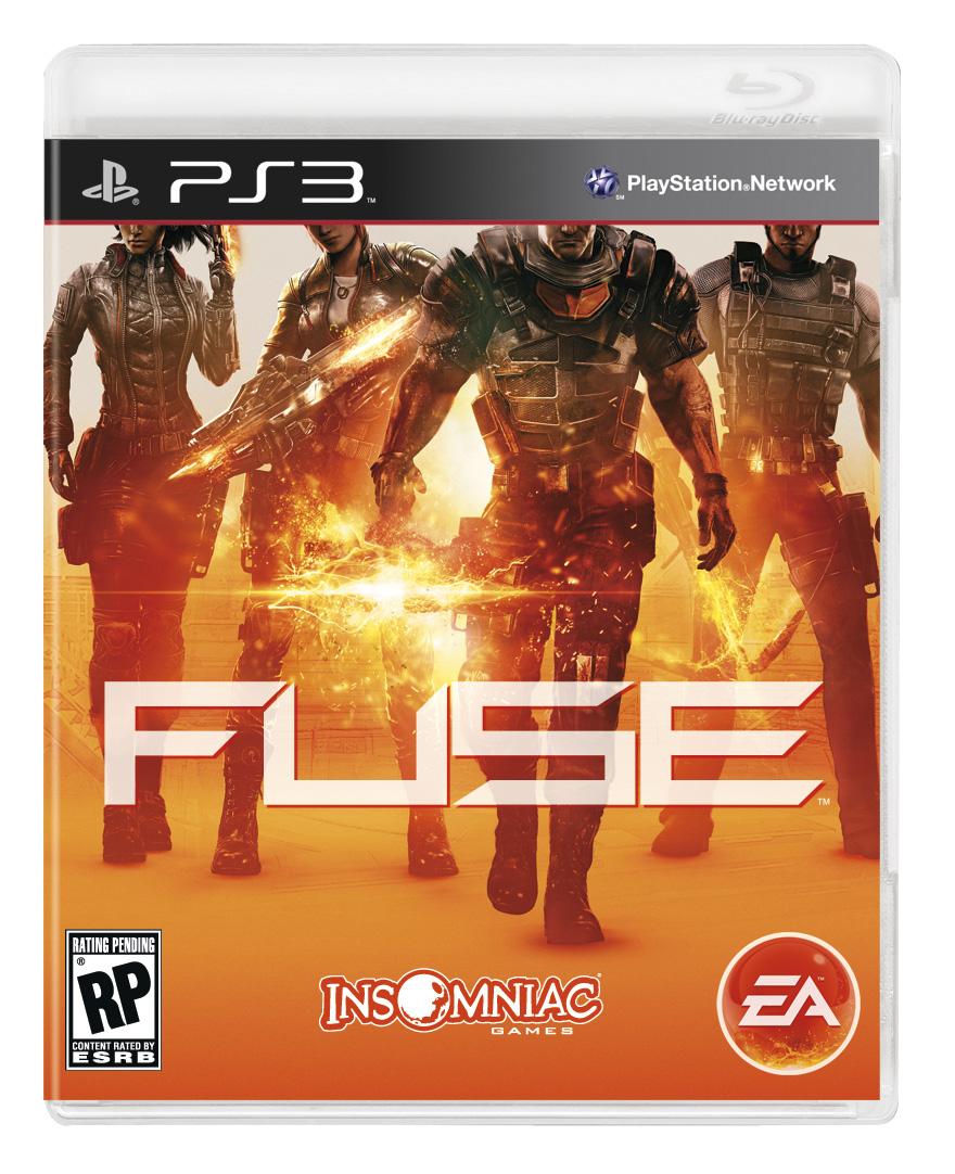 Fuse Arte da caixa PS3 X360 Filial dos Games
