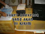 PAKET SOUVENIR YANG AKAN DI KIRIM