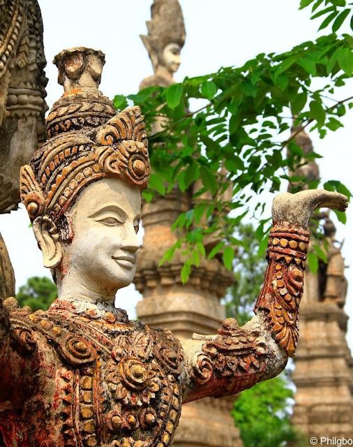 Au Buddha Park de Nong Khai