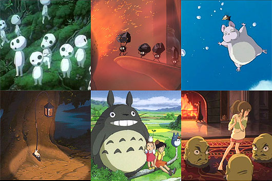 Ghibli creatures