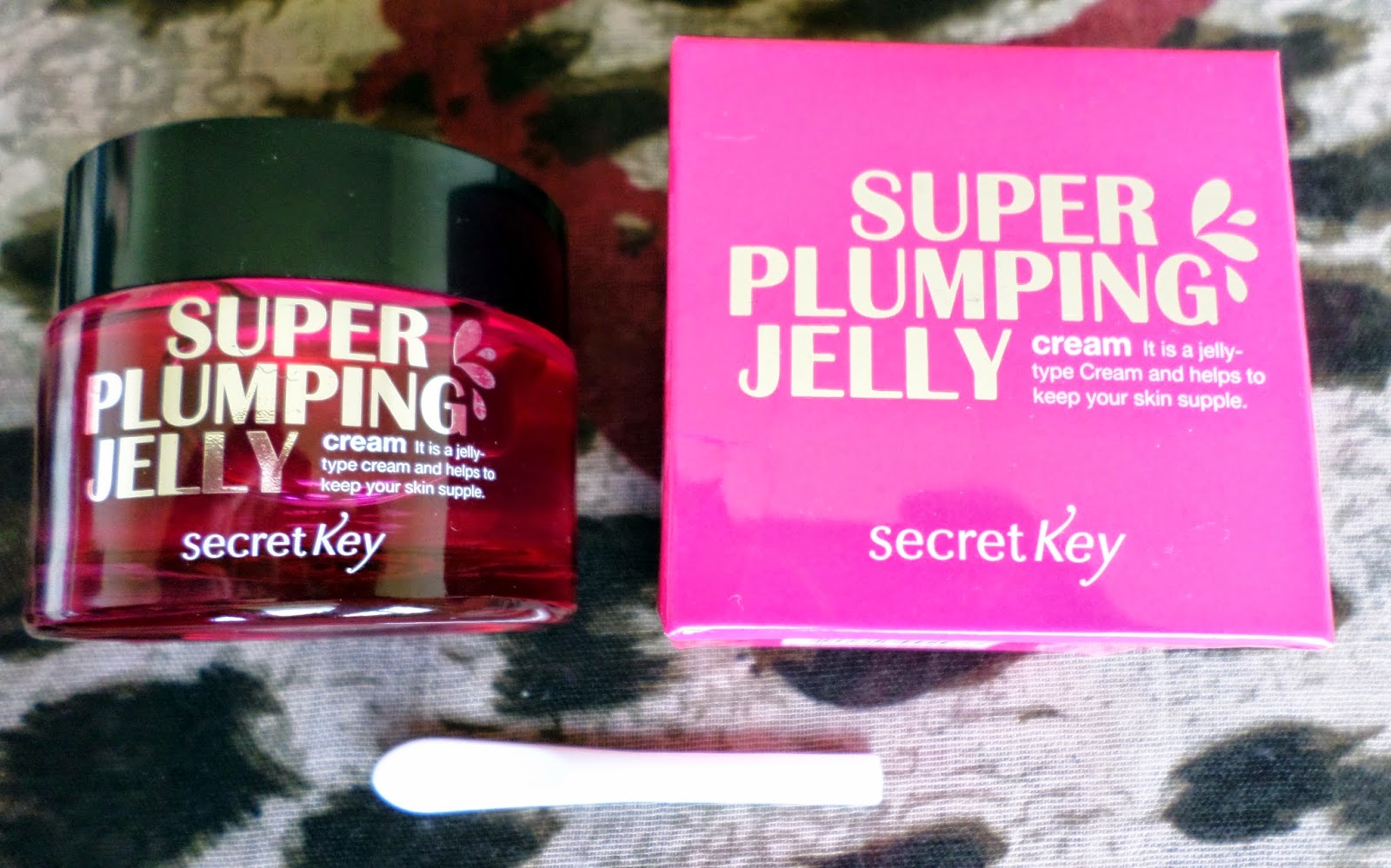 Secret Key Super Plumping Jelly Cream 50ml