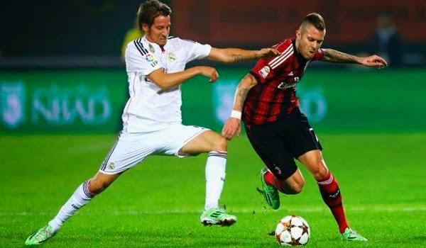 Real Madrid pierde 2-4 contra Milan en el amistoso de Dubai