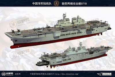 Chinese 071 B Carrier