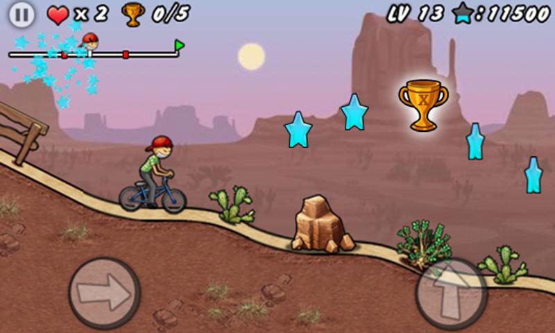 Android Games Cycling BMX Boy