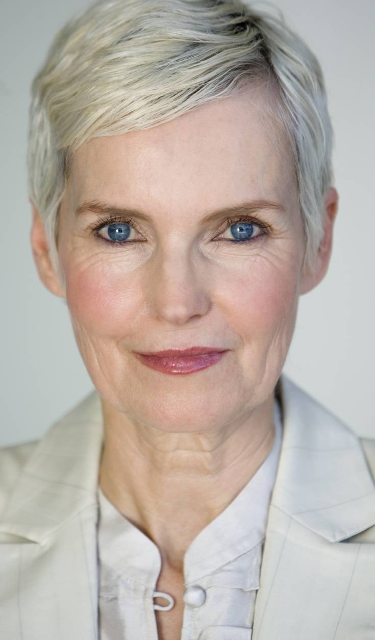 You tried short hairstyles for older women gray hair