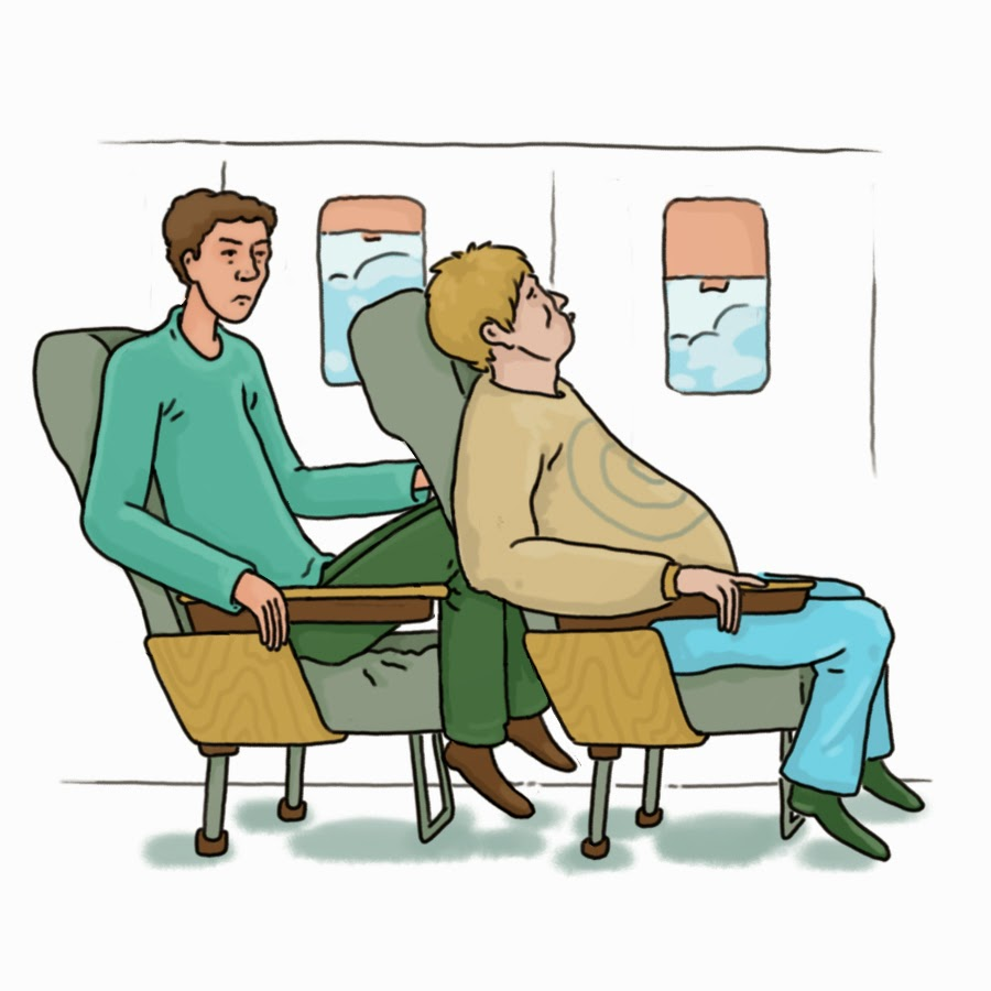 Tall People, Insufficient Airplane Seat Legroom