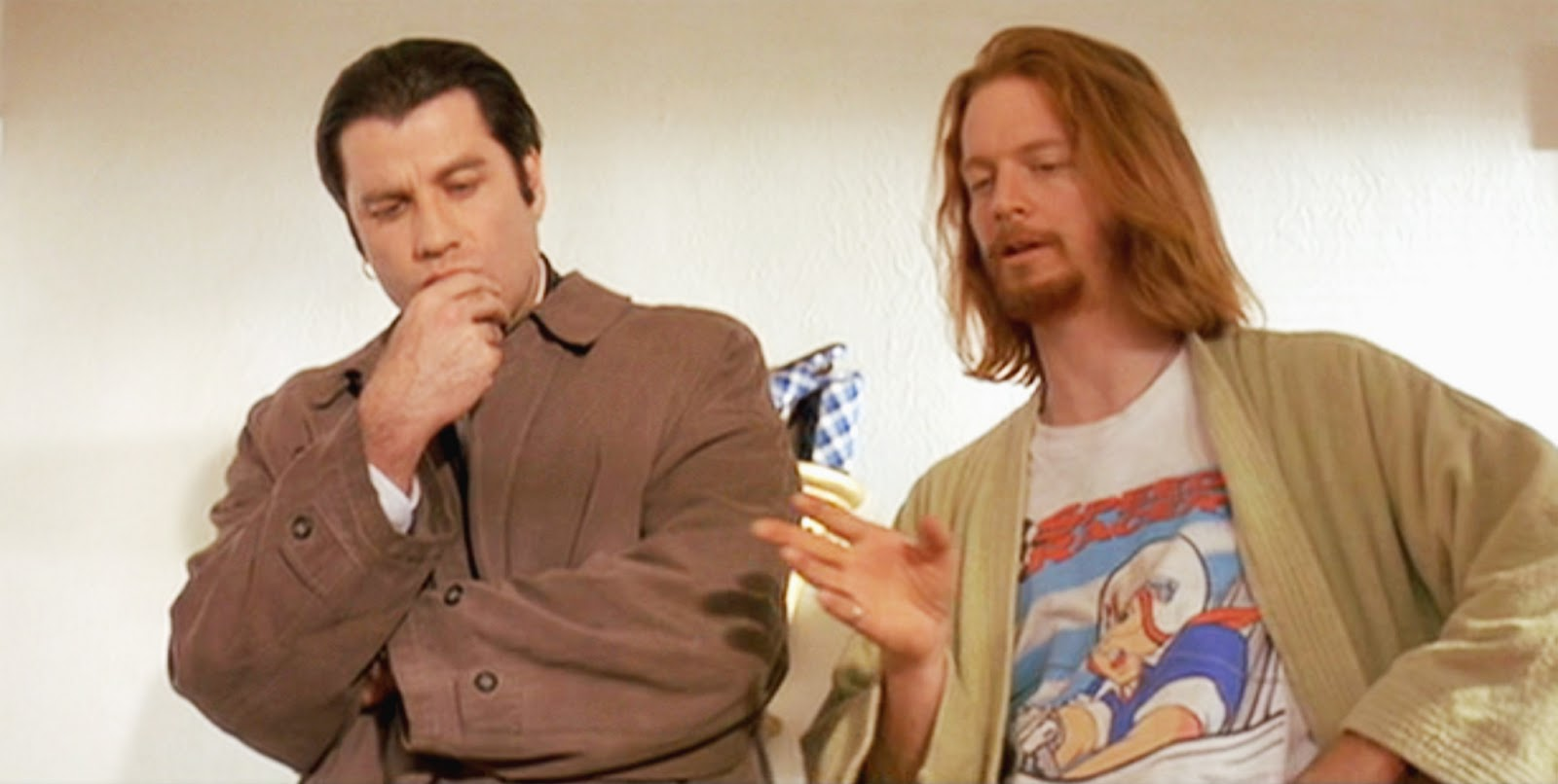 "The movie ""Pulp Fiction"", directed by Quentin Tarantino. Seen here ... Miawallace"