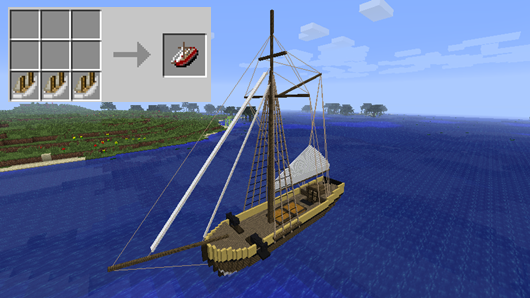 Mod Small Boats 1710 Minecraft Sem Limites