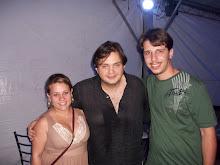 Eu e Simone (minha esposa) com Yamandu Costa no Canoas Jazz
