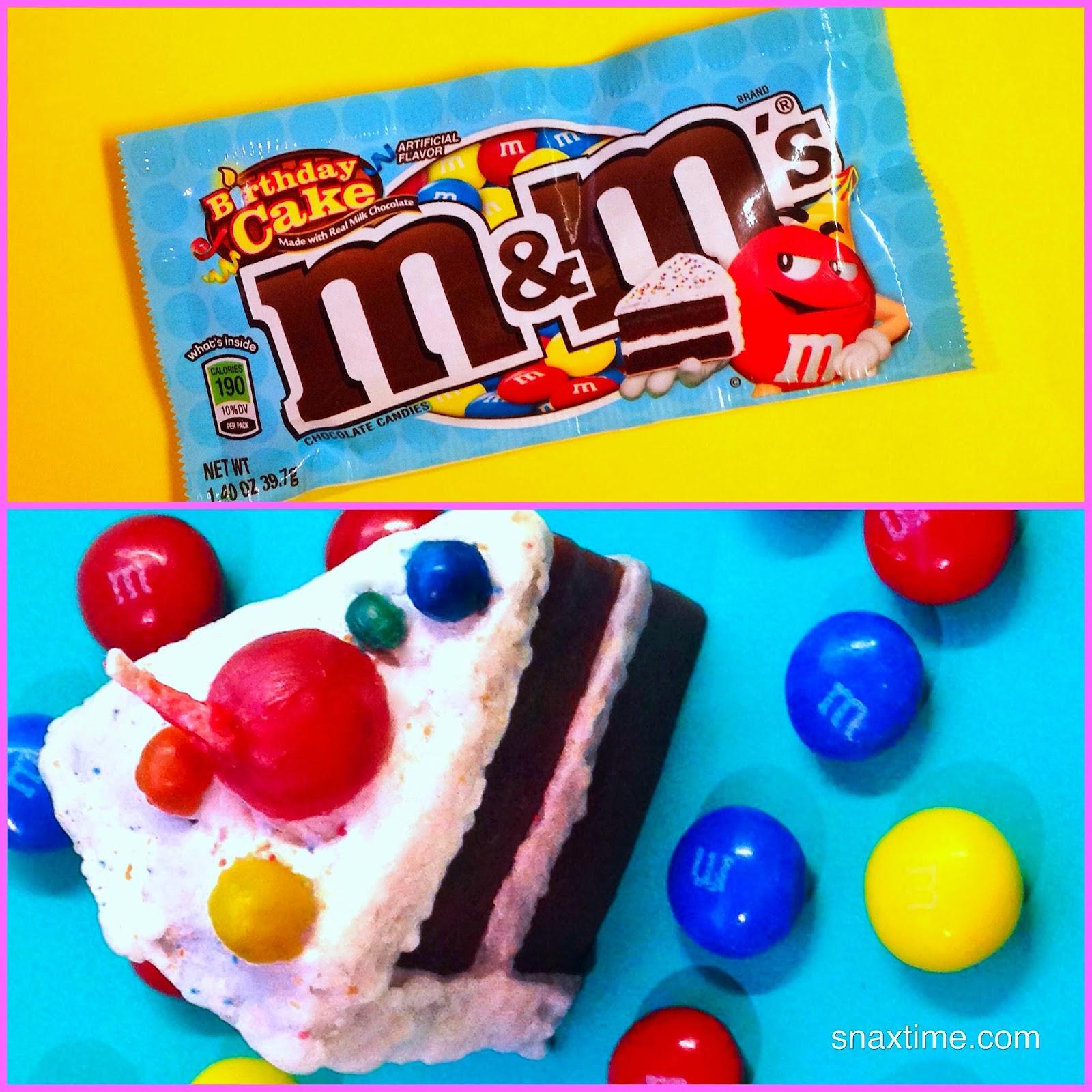 Birthday cake m amp m s birthday wishes come true snaxtime