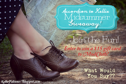 Midsummer ModCloth Giveaway!