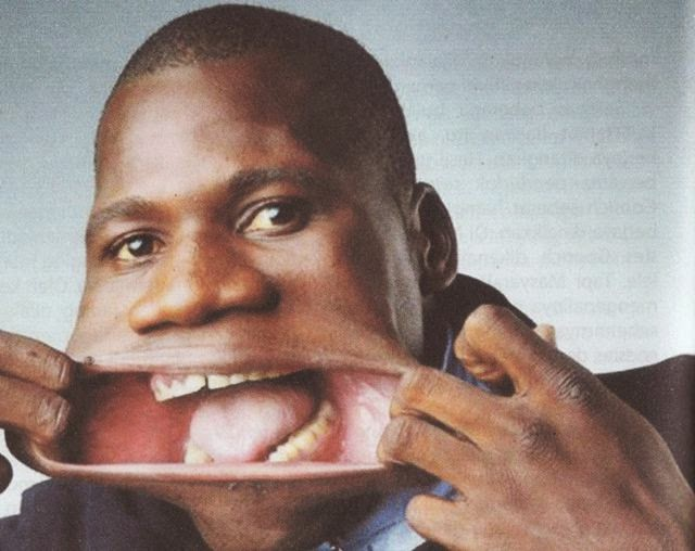 Francisco Domingo Joaquim has biggest mouth in the world