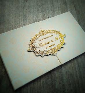 Undangan Pernikahan Romantic ( enha-HC 094 )