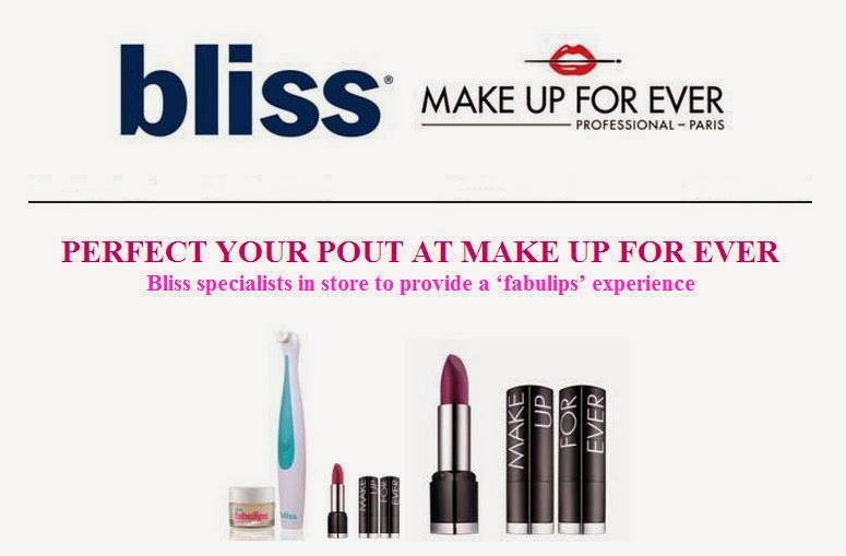 bliss+makeup+forever Bliss Fabulips 'Pout' o Matic