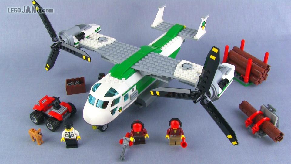 Cargo plane lego