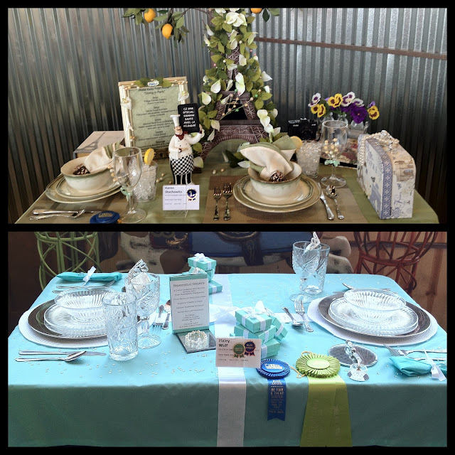 tablescapes at the OC Fair by newmommabeckers