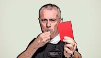 pengertian sepak bola (kartu merah)