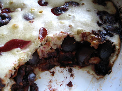 Cherry Clafouti (Baked Cherry Pudding)