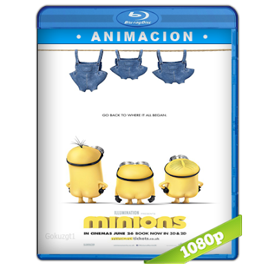 Los Minions (2015) BRRip Full 1080p Audio Trial Latino-Castellano-Ingles 5.1