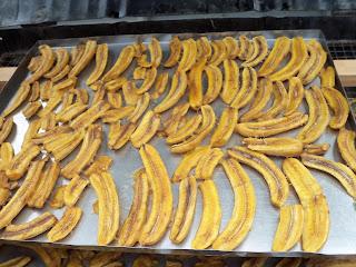 Plátanos deshidratados