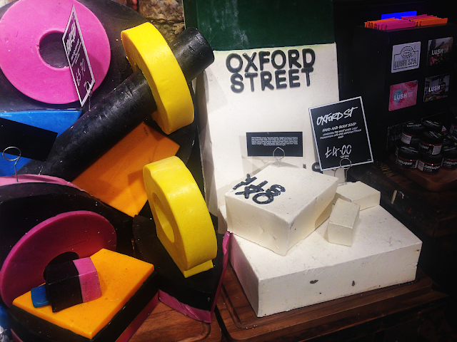 Lush Oxford Street soap
