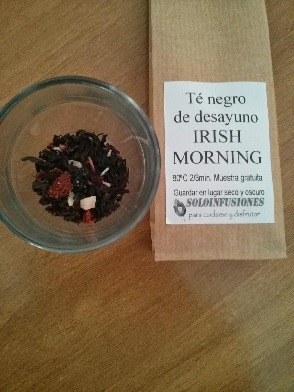 Soloinfusiones.com Té negro desayuno Irish Morning
