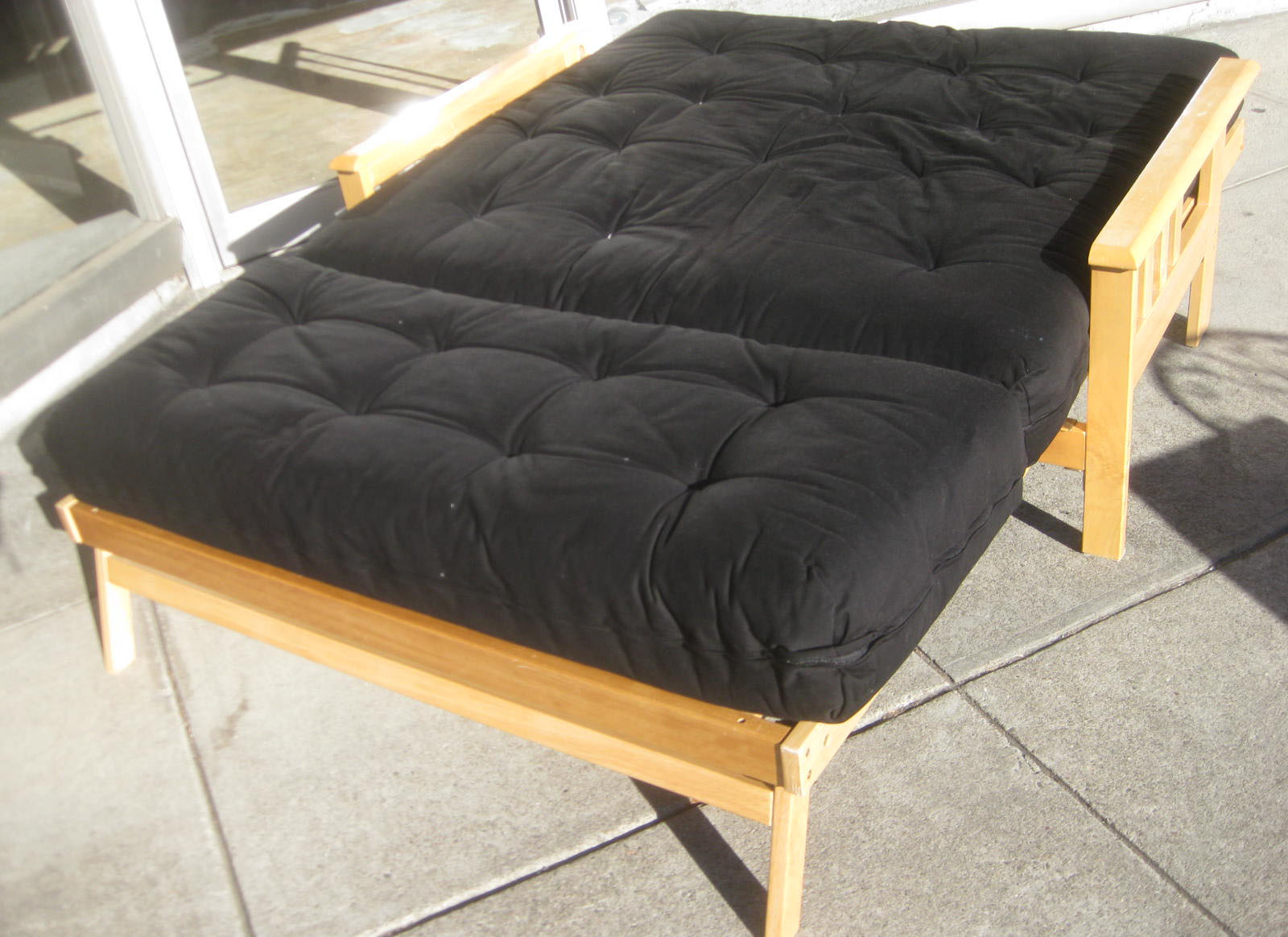 Sold Barely Used Twin Futon 200