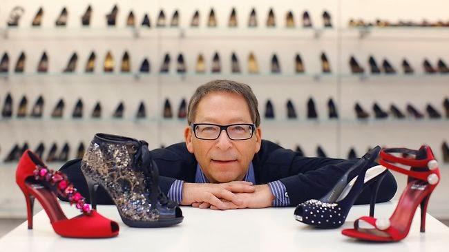 Loja de sapatos Stuart Weitzman em Nova York