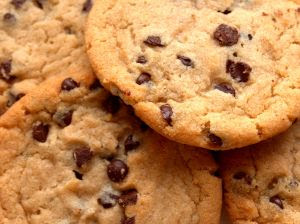 Chocolate Chip Recipes cookies pile