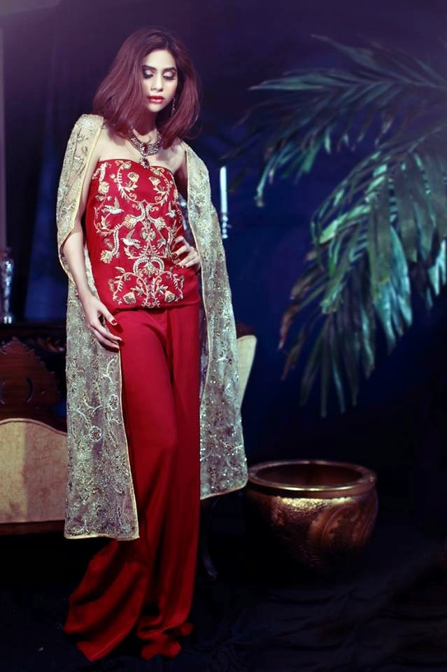 Maheen Karin Wedding Party Wear Collection 2014 15 Fancy