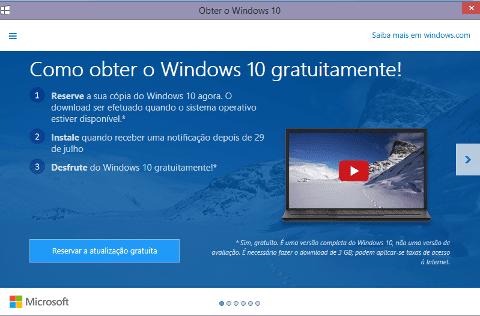 Windows 10: uma prova de humildade da Microsoft