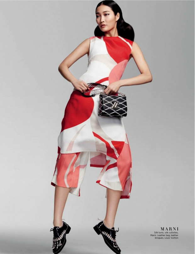 "Duchess Dior: ""It's Spring Time"" Jisu Hong for Harper's"