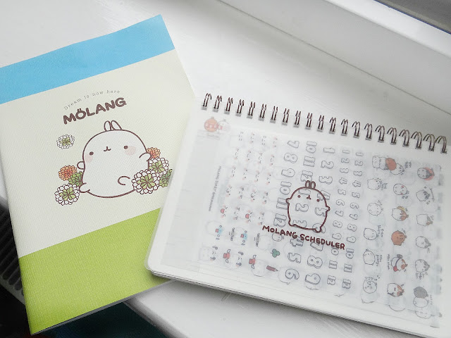 cute notebooks, cute planner, Japanese or Korean stationery