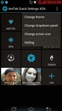 AntTek Quick Settings Pro Apk - Screenshoot